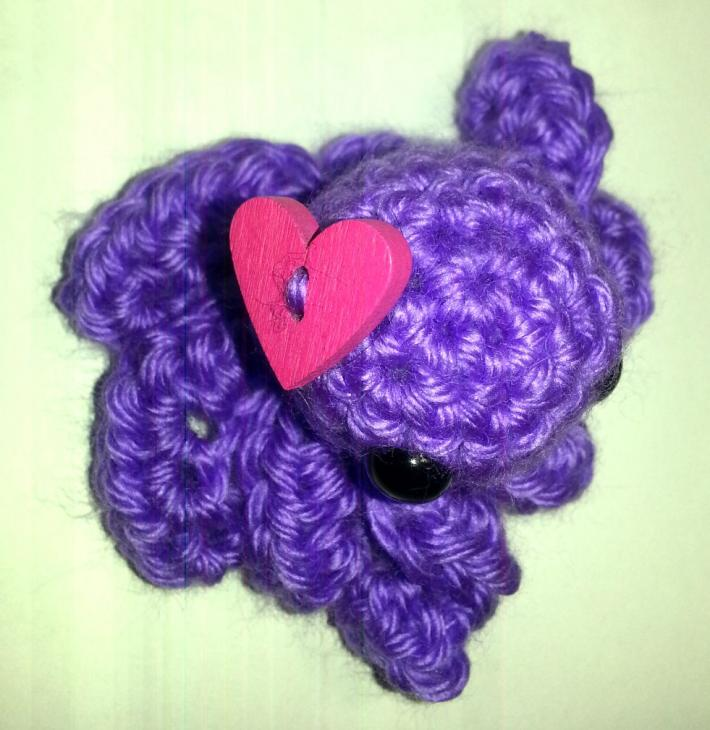 Purple Love Octopus