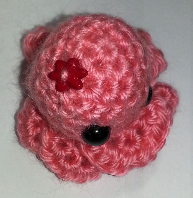 Rose Pink Octopus Fascinator