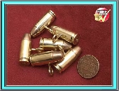 Steampunk clothing bullet buttons toggles