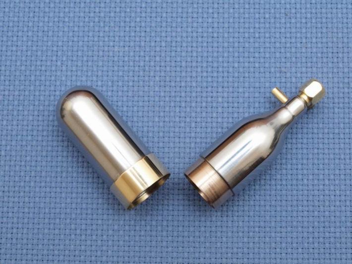 Pill box oxygen tank EDC