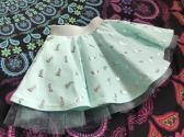 Foil Mermaid circle skirt