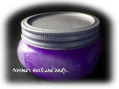 relaxing lavender sugar body scrub
