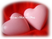 valentine heart soaps