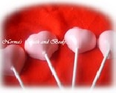 heart lollipop soaps