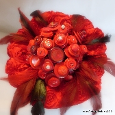 Red Button Bouquet