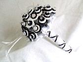 Tuxedo Button Bouquet