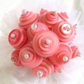 Pink Flower Girl Bouquet