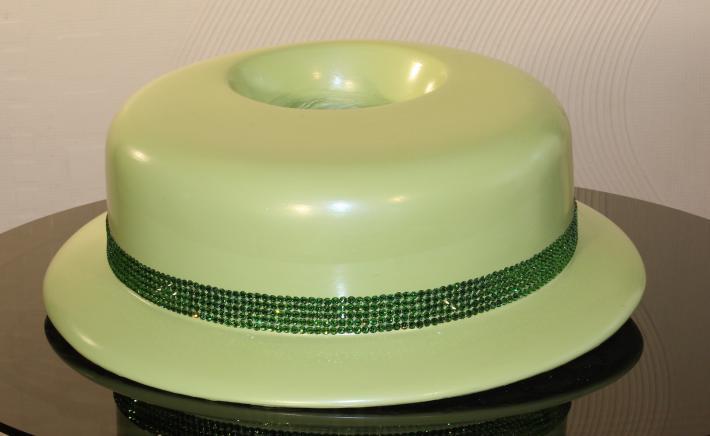 Mint Green Hat Vase