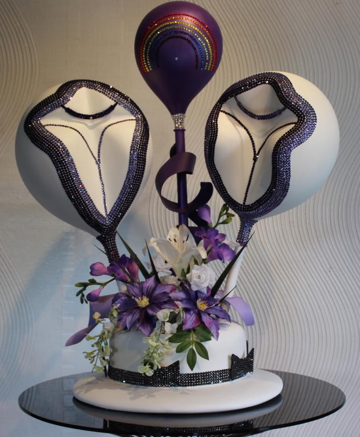 Same Sex Female Wedding Sculpture