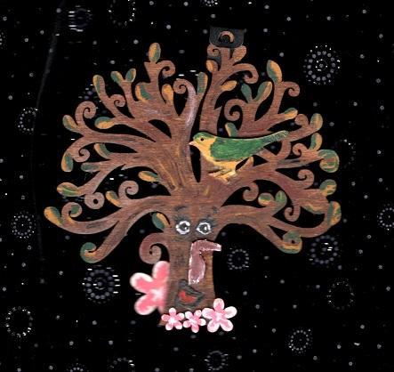 Teapot Tree Plaque