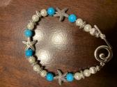 7 and Half Inch Starfish Bracelet
