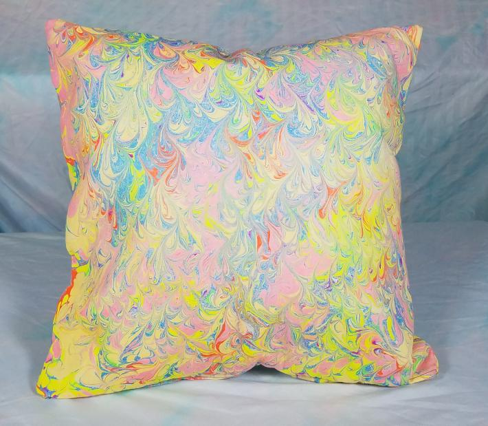 Marble Pillow Double Sided