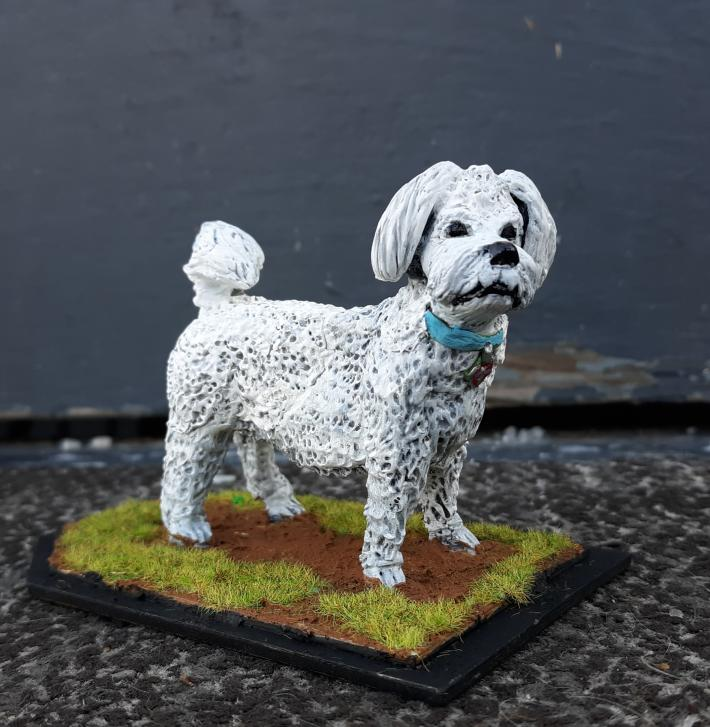 pet themed made to order figure