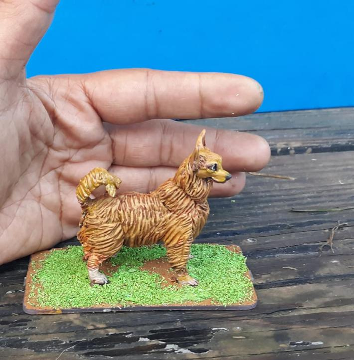 pet themed commissioned figure