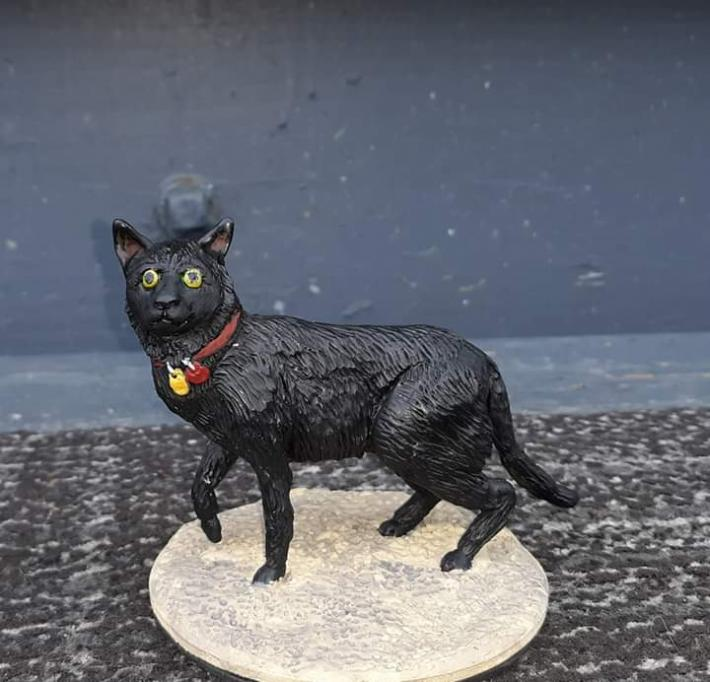 Made to order Comissioned Pet themed figures cats