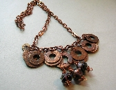Copper Washer Necklace