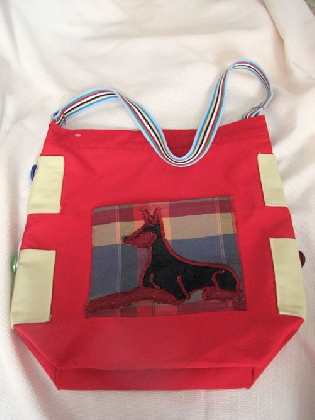 Doberman Pinscher Breed Specific Tote Bags