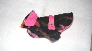 Bright Pink and Black Pooch Coat