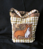 Welsh Corgi Breed Tote Bag