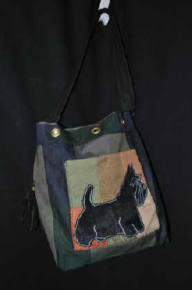 Scotty Dog Breed Specific Tote Bag
