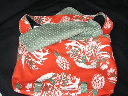 Jungle Themed Messenger Bag