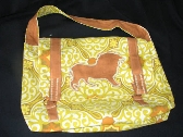Lion Spirited Messenger Bag