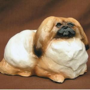 Hevener Collectible Pekingese Dog Figurine