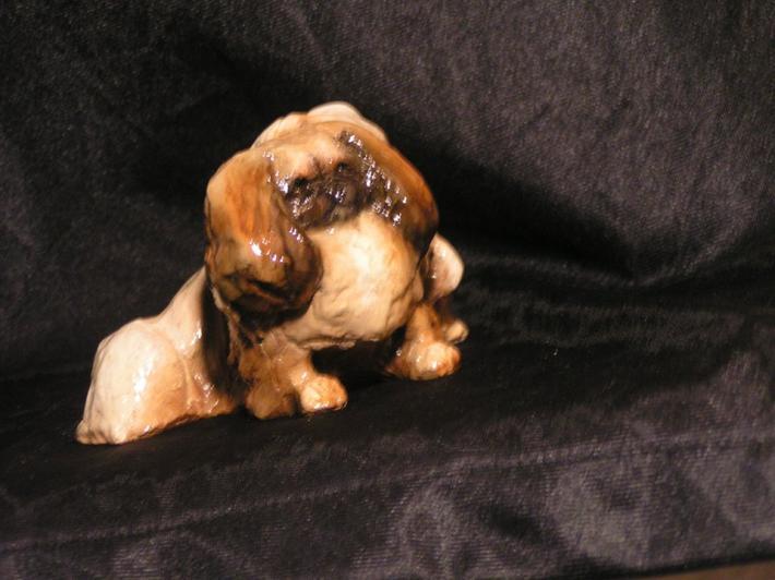 Hevener Collectible Dog Figurine