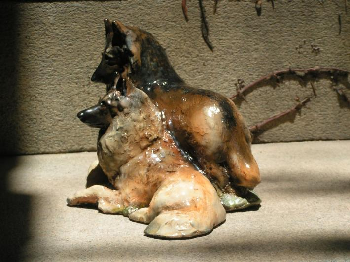 Hevener Collectible Belgian Tervuren Dog Figurine