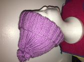 Child Knitted Pom Pom Hat
