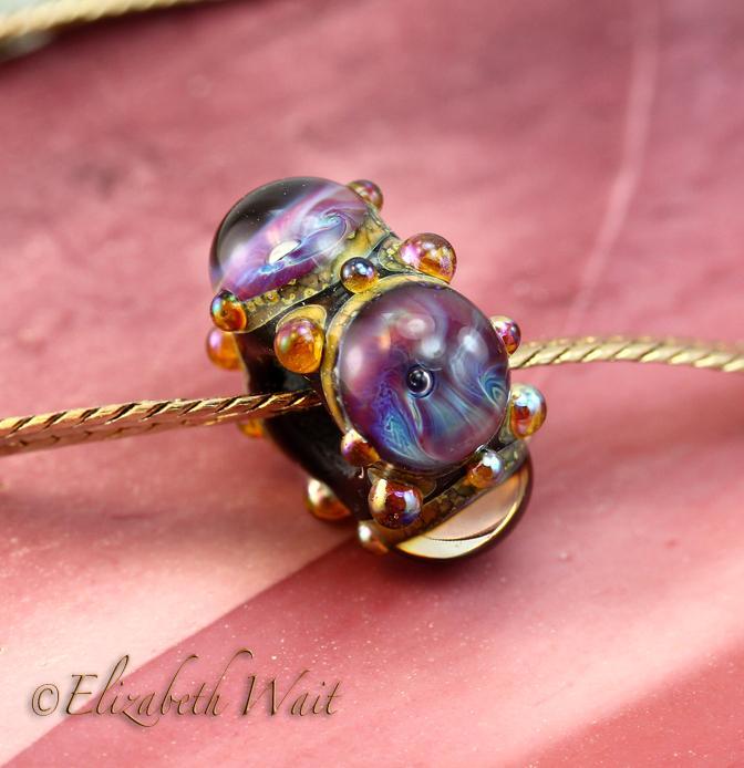 TerraNova 1164 betsybeads Large Hole Handmade Lampwork Beads SRA