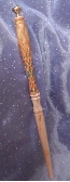Green and Gold Hemlock and Maple Wand