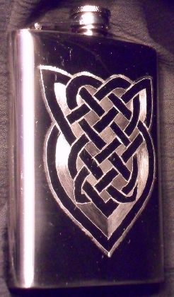 Knot A Shield Flask