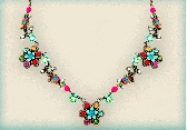 Orly Zeelon The Colors Of Rainbow Earrings And Necklace