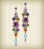 Orly Zeelon The Garden Galaxy Dangle Earrings