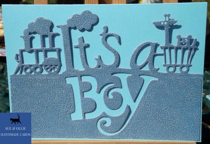 Blue Its a Boy Card