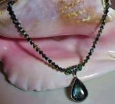 Labradorite Crystal Necklace