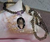 Smoky Quartz Gemstone Necklace Bracelet