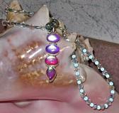 Mystic Topaz Crystals Necklace Bracelet