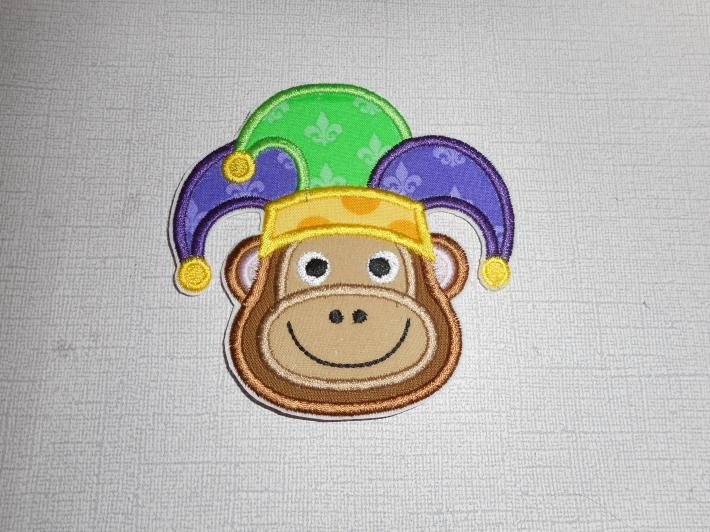 Mardi Gras Monkey