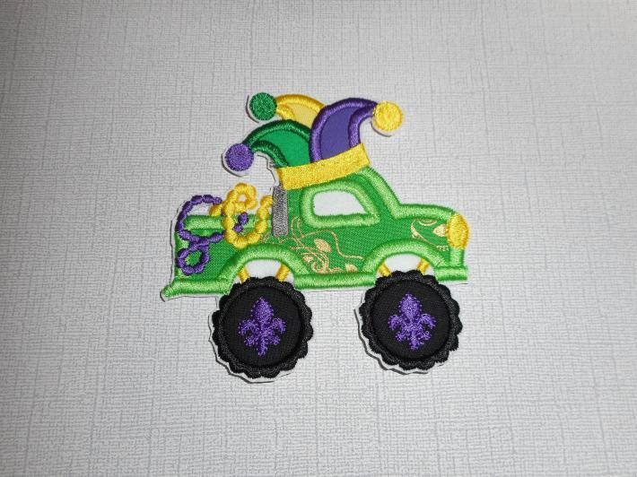 Mardi Gras Truck