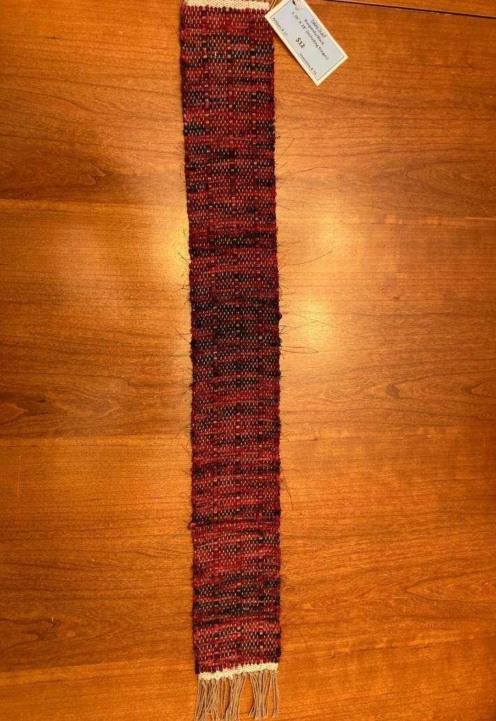Woven Table Scarf Runner 3x28
