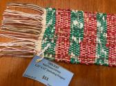 Christmas Woven Table Runner 3x22