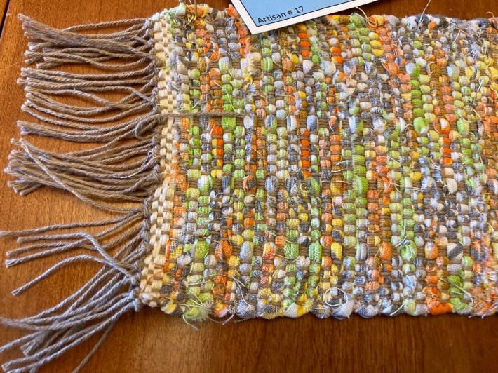 Woven Table Scarf Runner 4x26