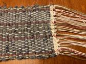 Woven Table Scarf Runner 3x18