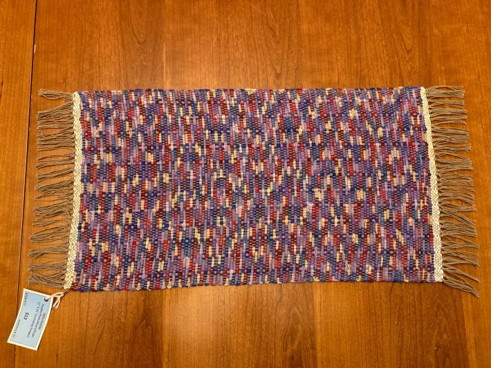 Woven Table Runner 11x25