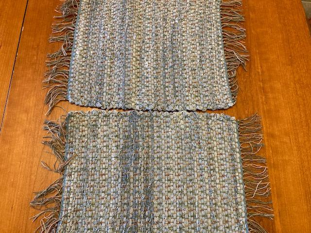 Woven Placemats Set of 2 13x20