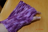 Purple Texting Gloves