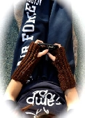 SOLD  Coffee Fleck Texting Gloves