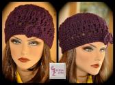 Purple Violet Hipster Hat